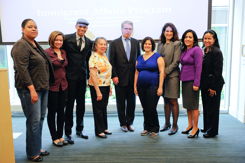 DA VANCE, MANHATTAN DA'S IMMIGRANT AFFAIRS PROGRAM, AND PARTNERS HOST IMMIGRATION POLICY BREAKFAST