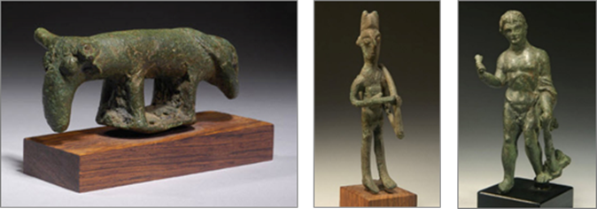 8th CENTURY B.C.E. BRONZE STATUES AMONG COLLECTION OF ANCIENT ARTIFACTS BEING REPATRIATED TO ITALIAN REPUBLIC BY MANHATTAN DISTRICT ATTORNEY'S OFFICE