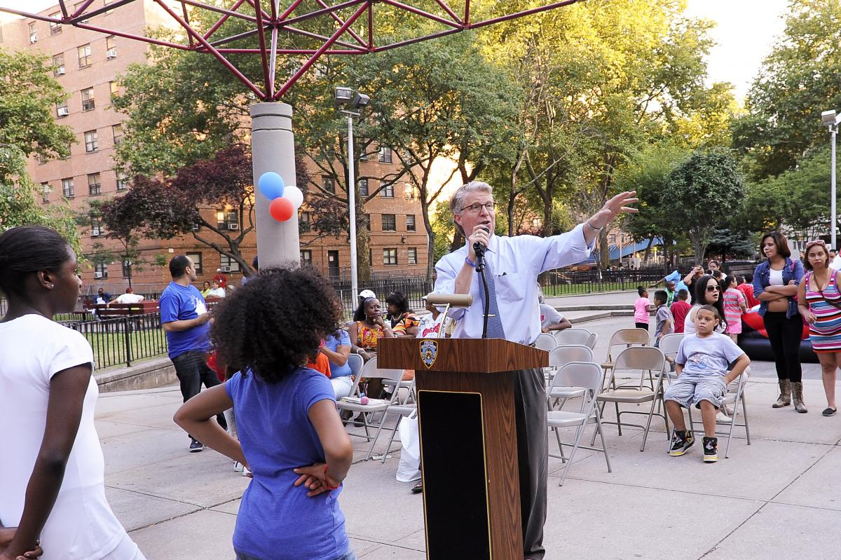 DISTRICT ATTORNEY VANCE VISITS PRECINCTS AND PSA'S AROUND MANHATTAN DURING 30TH ANNUAL NATIONAL NIGHT OUT AGAINST CRIME