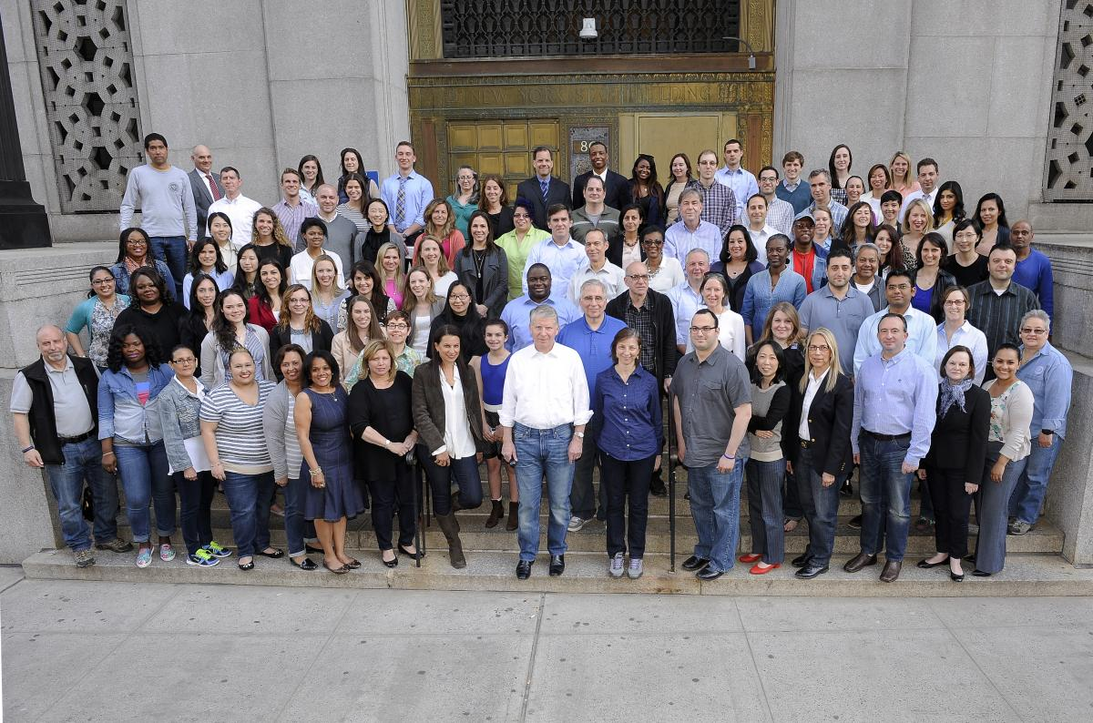 "MANHATTAN DA'S OFFICE ATTORNEYS AND STAFF MEMBERS WEAR JEANS ON ""DENIM DAY"" DURING SEXUAL ASSAULT AWARENESS MONTH"