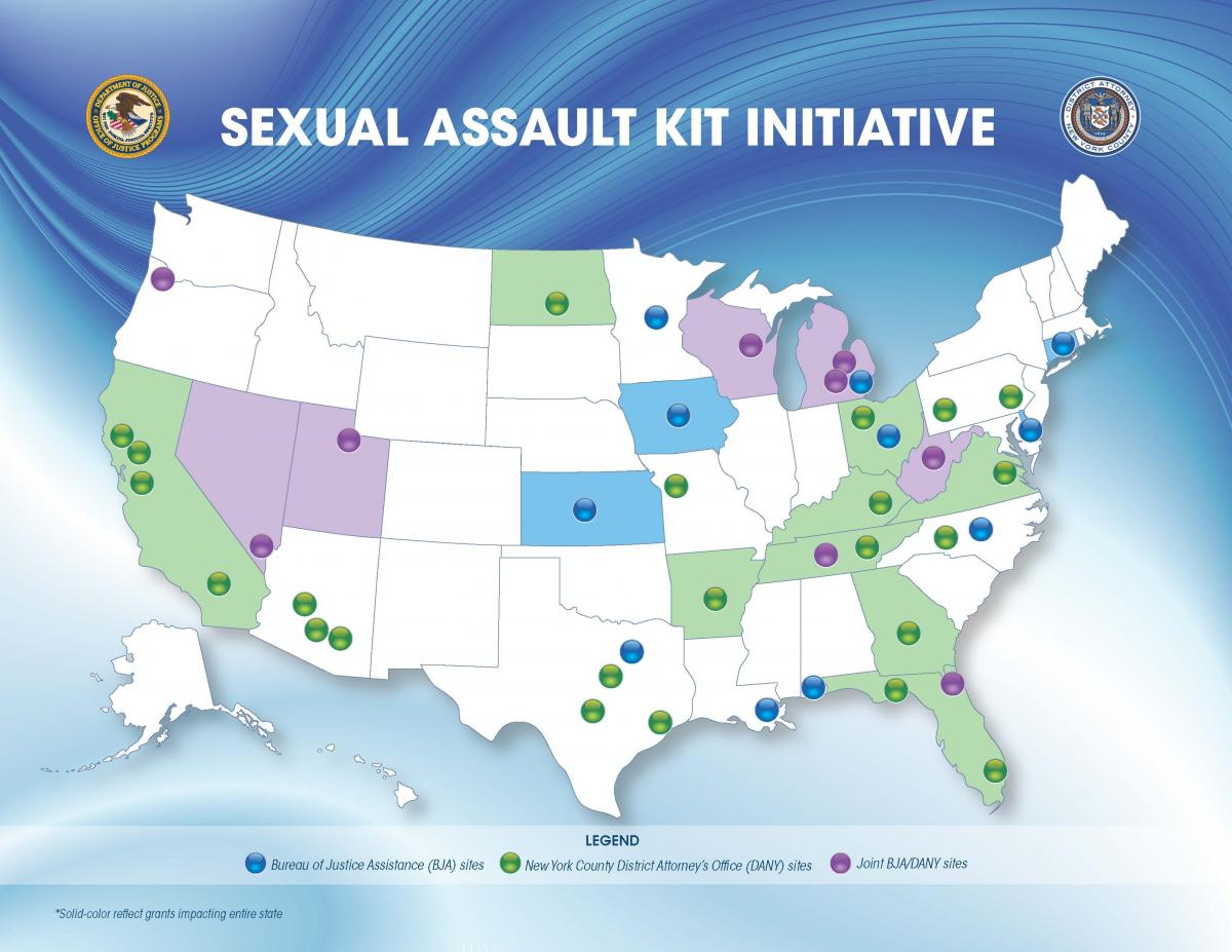 DISTRICT ATTORNEY VANCE AWARDS $38 MILLION IN GRANTS TO HELP 32 JURISDICTIONS IN 20 STATES TEST BACKLOGGED RAPE KITS