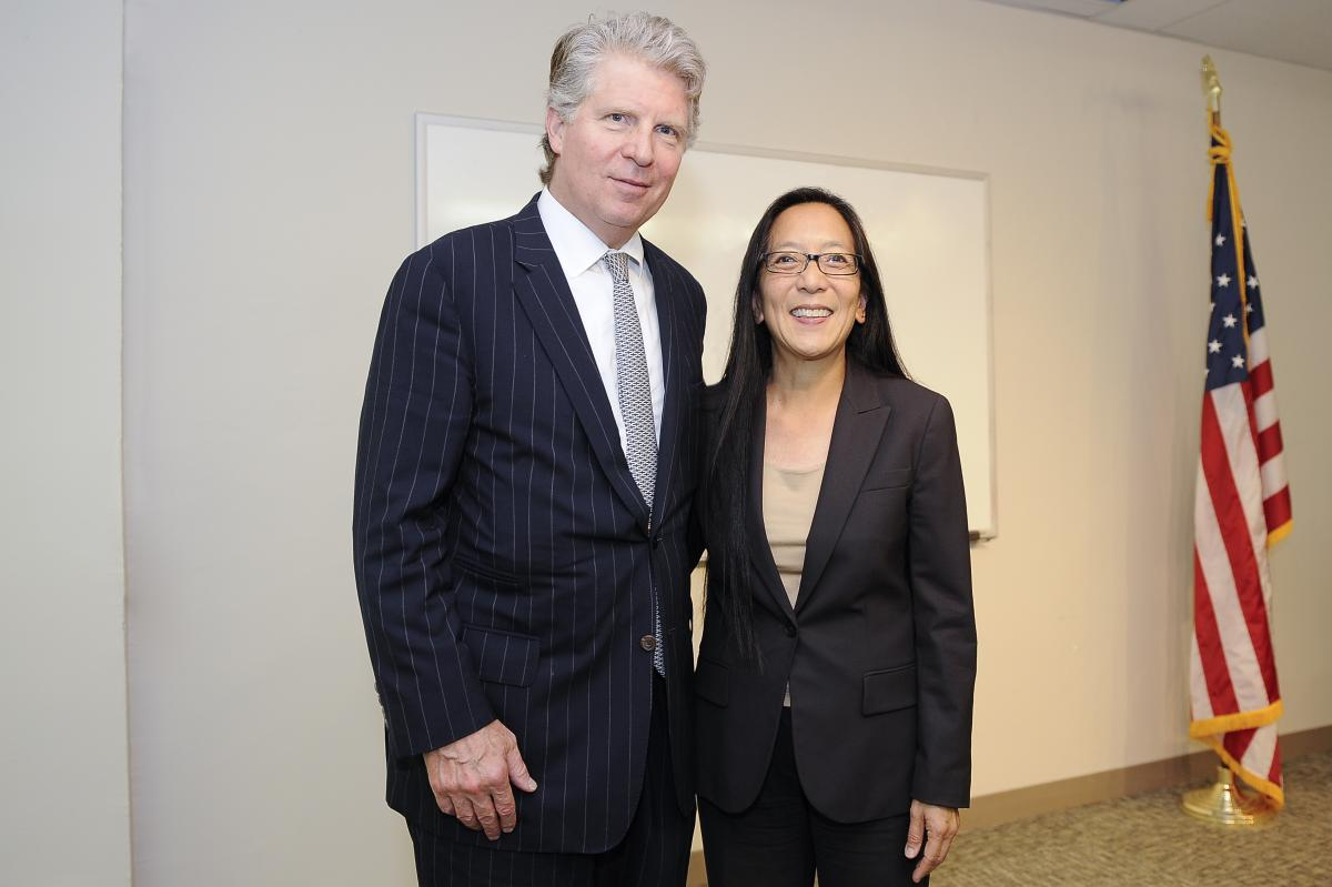 DISTRICT ATTORNEY VANCE HOSTS U.S. DISTRICT JUDGE PAMELA K. CHEN FOR ASIAN-PACIFIC AMERICAN HERITAGE MONTH