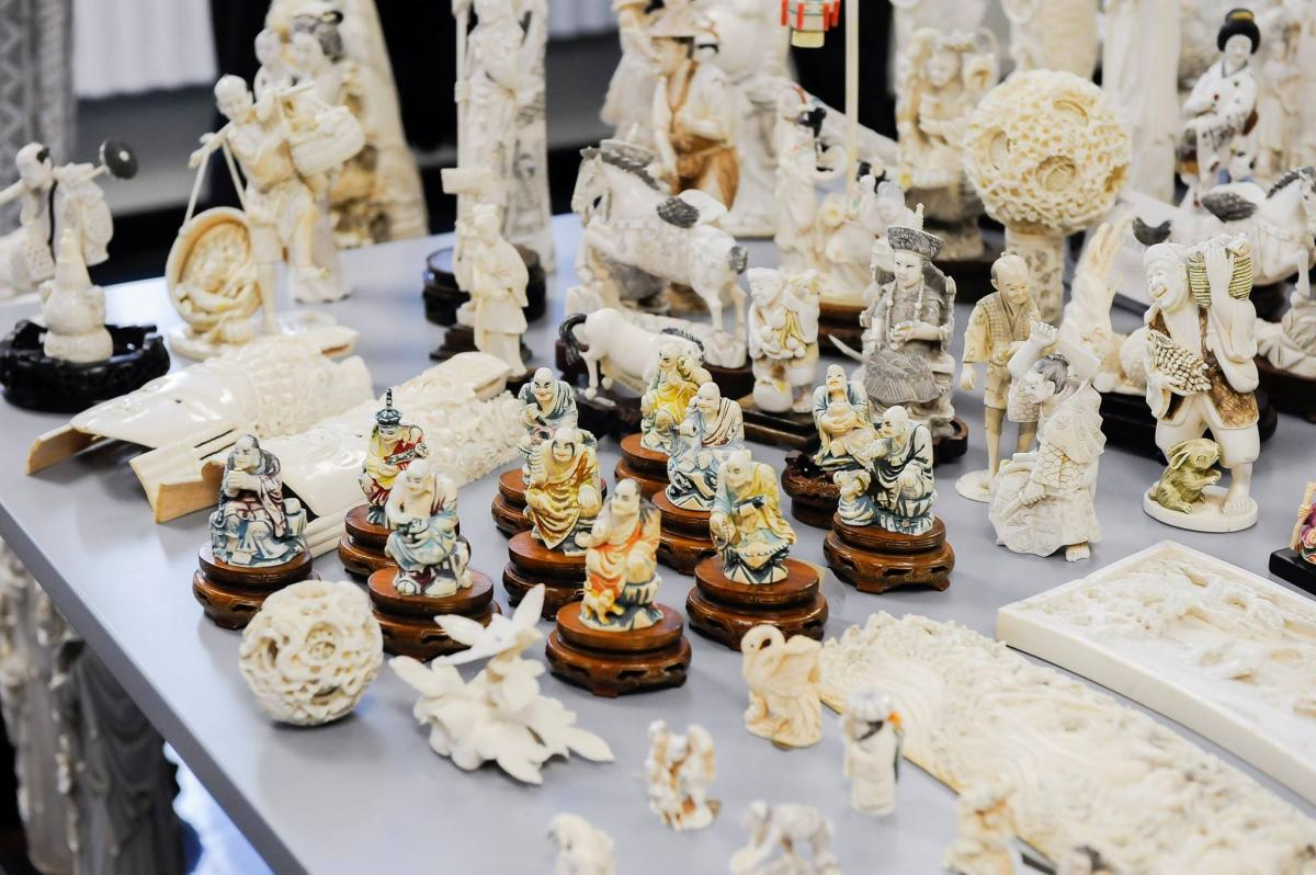 DA VANCE ANNOUNCES GUILTY PLEAS OF MIDTOWN ANTIQUES STORE AND OWNERS FOR SELLING ILLEGAL ELEPHANT IVORY