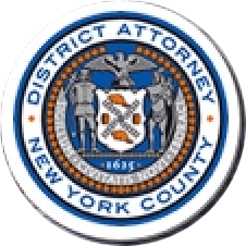 Logo for the Manhattan District Attorney's Office